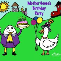 Mother Goose's Birthday Party fun play for children